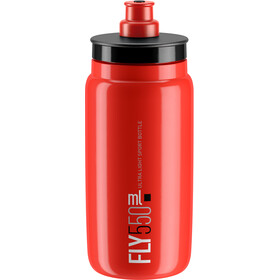 Elite Fly Drinking Bottle 0.5 l, red/black logo